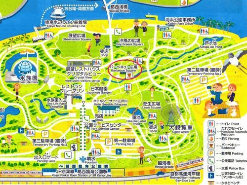 葛西臨海公園マップ2