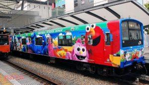 USJユニバキャラ電車